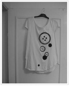 Foto på tröja med tygtryck